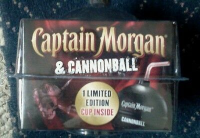 New Captain Morgan Cannonball Plastic Limited Edition Cup