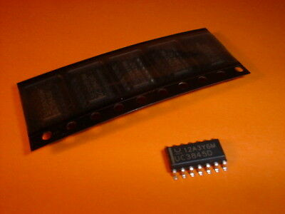5x UC3845D PWM-Controller SMD-IC SO-14
