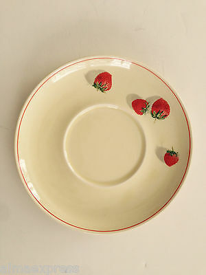 WS George Cavitt Shaw SHORTCAKE 184A Strawberries - TEA CUP SAUCER