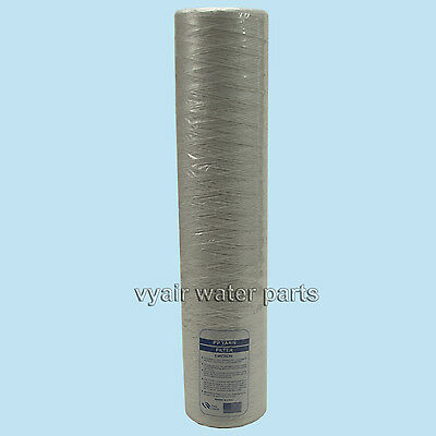 "20"" Wound Jumbo Sediment Filter Cartridge, For Water, Bio-Diesel, Veg Oil & More"