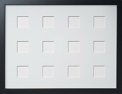 Frame Company Multi Aperture Black Picture Frames with Choice of Mounts
