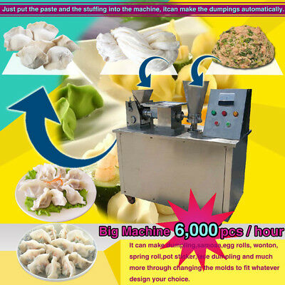 100mm size automatic dumpling maker machine for samosa spring roll empanada