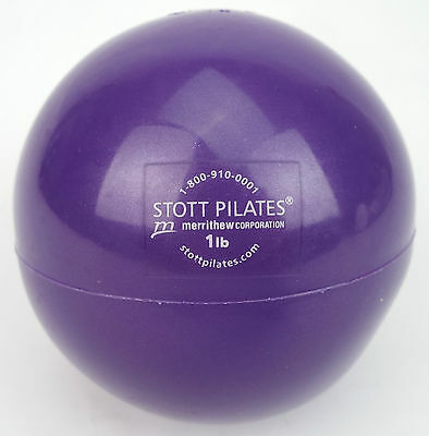 Stott Pilates 1lb Toning / Training weight ball (free delivery)