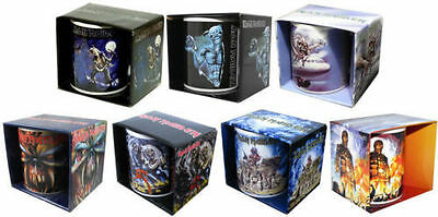 Iron Maiden Mug - Ceramic Coffee / Tea Cup - New & Official In Picture Box