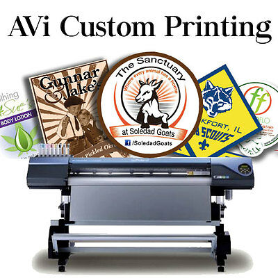 $1. CUSTOM BUCKS for American Vinyl, Inc Professional Custom Designing & Print