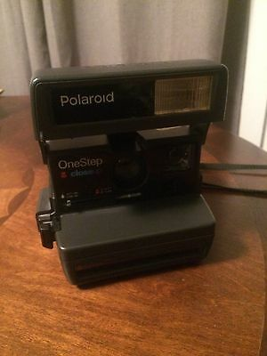 Vintage Polaroid Onestep Close Up 600 Instant Camera Works Tested