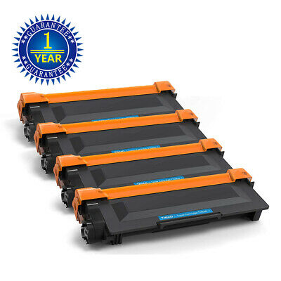 4 High Yield Black Toner Cartridge TN660 HL-L2300D For Brother DCP-L2540DW TN630