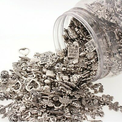 75g Gorgeous Tibetan Silver Mixed Charms Mix For Jewellery Making And Crafts