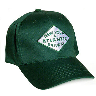 NEW! Embroidered NEW YORK & ATLANTIC RAILWAY Crew Cap
