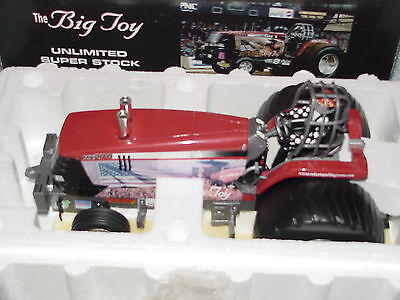Speccast 1/16 Case Ih The Big Toy Unlimited Super Stock Pulling Tractor