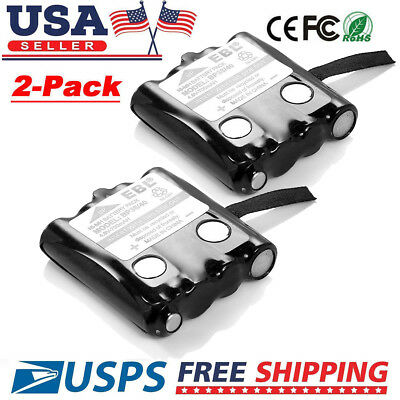 2pcs Replacement Battery For Uniden 2-way Radio BP-38 BP38 BP-40 BT1013 GMR FRS