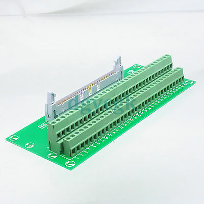IDC 60pin port plug adapter connector header Terminal Breakout PCB Board 2 row