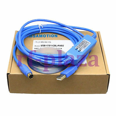 Programming cable USB-1761-CBL-PM02 for Allen Bradley Micrologix 1000 Series