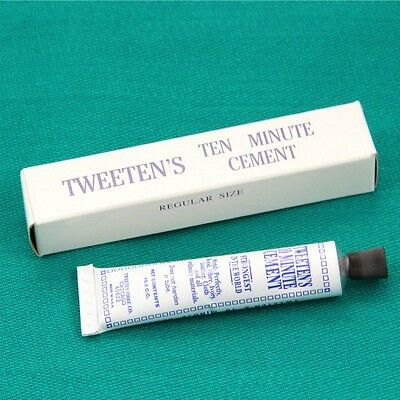 Tweeten Cue 10 Minute Tip Cement Strong Quality Glue For Re-Tipping Snooker Pool