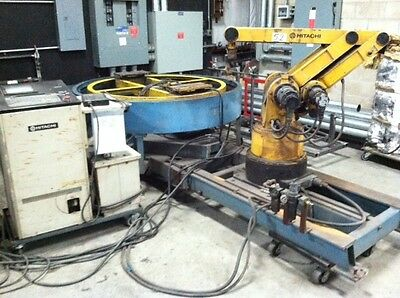 Welding Robot with Turn Table