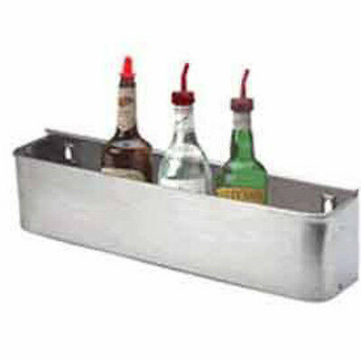 "Bar Equipment - 34"" Stainless Steel Speed Rail, generic"
