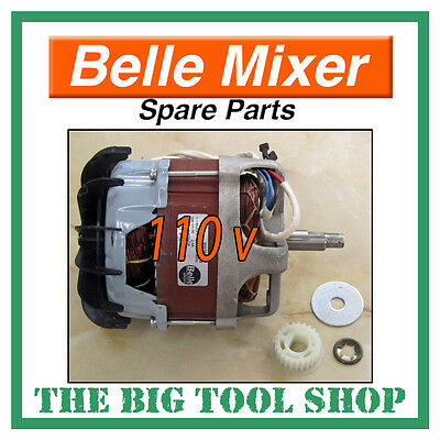 Belle 110V Electric Motor Only For Mini Mix 150 Mixer Spare Parts