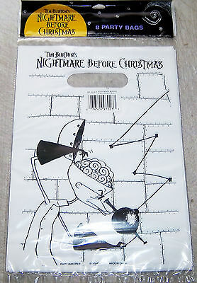 24 Vintage 1993 Original Release NBC Nightmare Before Christmas Party bags