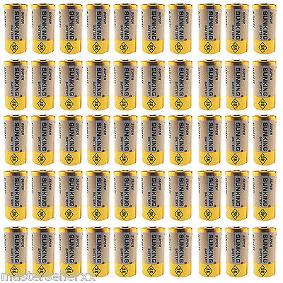 50 x 28A 4LR44 PX28 A544 PX28A 4G13 V4034PX 6V 6.0 Volt Alkaline Battery Cell