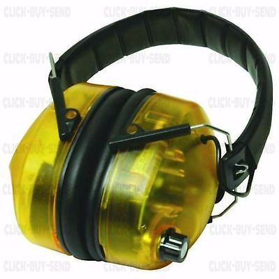 Silverline Electronic Ear Defenders Defender 30 Db Free Batteries Guaranteed New
