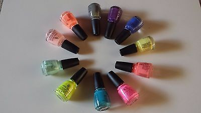 Brand New Genuine China Glaze Nail Polish PACK 1  Lacquer Choose Color Popular