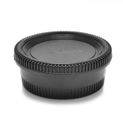 Rear Lens & Camera Body Cover Cap For Nikon AF AI D90 D7000 D3100 D5100 Camera