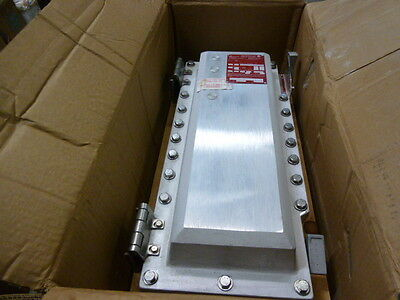 Crouse Hinds EBMCFD Explosion Proof Magnetic Starter Size 2 480V 50A