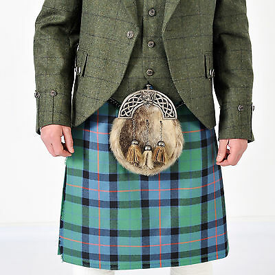 New Flower Of Scotland  5 YD wool Kilt Made in Scotland £229 offer £139 NOW £119