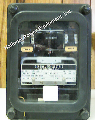General Electric Type IAC Overcurrent Relay 12IAC51B4A