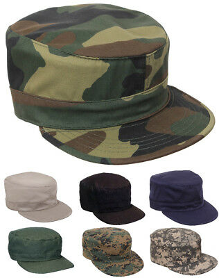 Fatigue Cap Hat  Adjustable Camouflage Military Patrol Rothco 4544 93469 3441