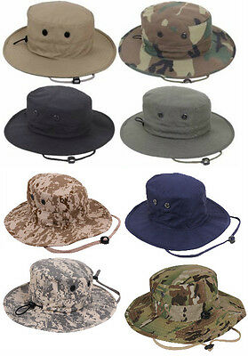 Adjustable Boonie Hat  Hunting Tactical Military Style Rothco