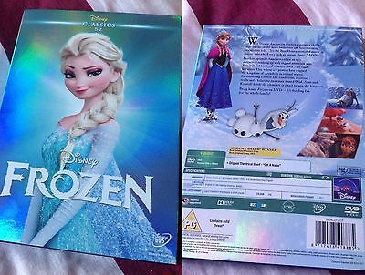 Frozen Disney Dvd ,New Selead ,Uk