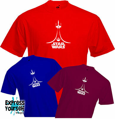 STAR WARS X-WING - T Shirt, unique design,  Cool, Quality, NEW Force awakens