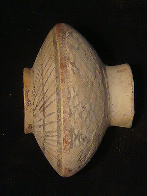 Ancient Teracotta Bronze Age Painted Pot 2500 BC