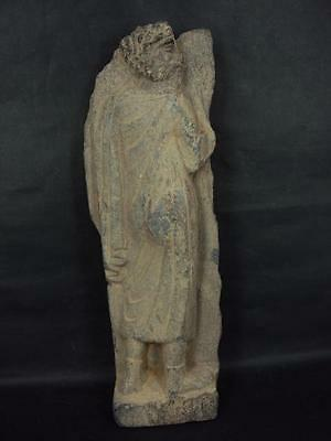 Ancient Gandhara/Gandharan Stone Large Bearded Figure C.200 AD
