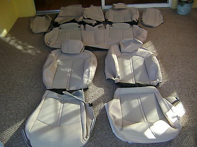 Hyundai Sonata Seat Covers Oem Factory Original Tan Cloth 2015