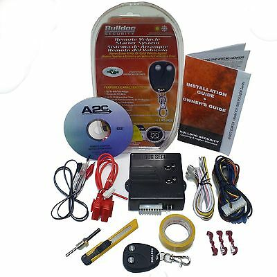 New BullDog Remote Auto Start Ignition Starter System Kit for Infinity & Others
