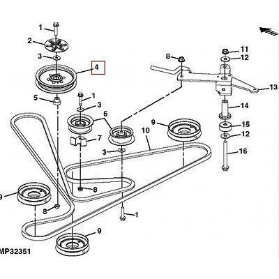 Schematic Diagram For A John Deere 320 additionally Belt Deck Diagram Craftsman 42 Mower in addition John Deere Z225 Deck Diagram besides S 237 John Deere L110 Parts besides 11753 Ignition Switch Wiring For 316. on john deere z445 parts diagram