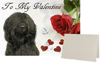 Briard Dog C5 Valentines Day Card Design VBRIARD-2 by paws2print