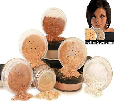 Mineral Makeup Foundation 6 PIECE SET Natural Coverage by Intelligent Cosmetics™