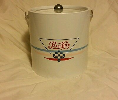 Unique Pepsi-Cola Ice Pail Bucket Insulated Great Summer Addition for Cookouts