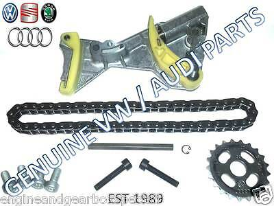 Audi A4 A6 Vw Golf Passat  2.0 Tdi Oil Pump Chain Tensioner Repair Kit Blb Bkp
