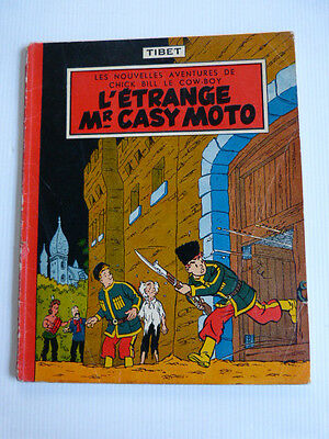 CHICK BILL :  L'étrange Mr Casy Moto en EO 1956