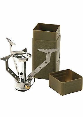 Web-Tex Military Warrior Compact Stove Lightweight Army Camping Cooking Fishing