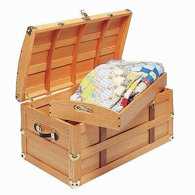 Steamer Trunk Plan - Media   Woodworking Plans   Indoor Project Plans