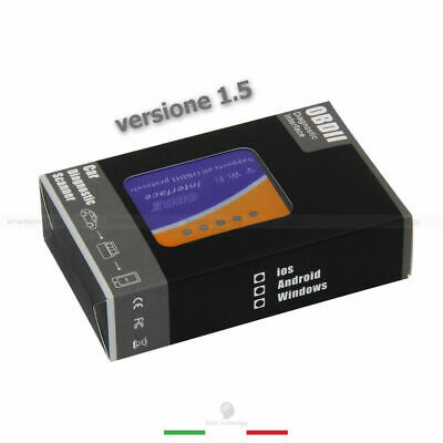 Elm 327 Wifi Obd2 Diagnostica Auto Obdii Ios Android Windows Scanner Wireless