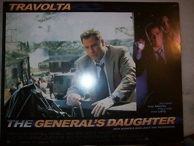 Lobby Cards - The General's Daughter - John Travolta - Complete 8 Photos - Usa