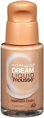 Maybelline New York Dream Liquid Mousse Foundation Nude Beige Light (Pack of 2)