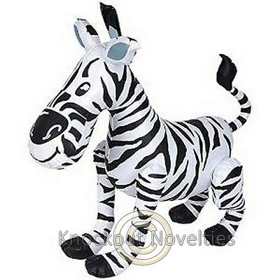 Inflatable Zebra Aoo Animal Gift Fun Party 240 Inches Jungle Birthday Party Fun