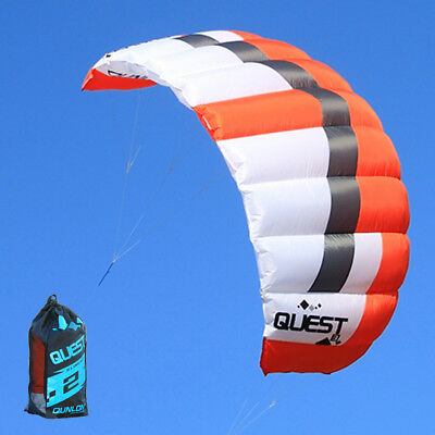 3m² Dual Line Traction Kite Power Kite for Trainer Kiteboarding Kitesurfing